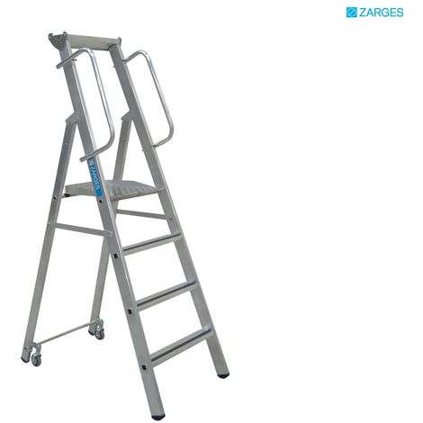 ZARGES MOBILE MASTER STEP 4 RUNGS