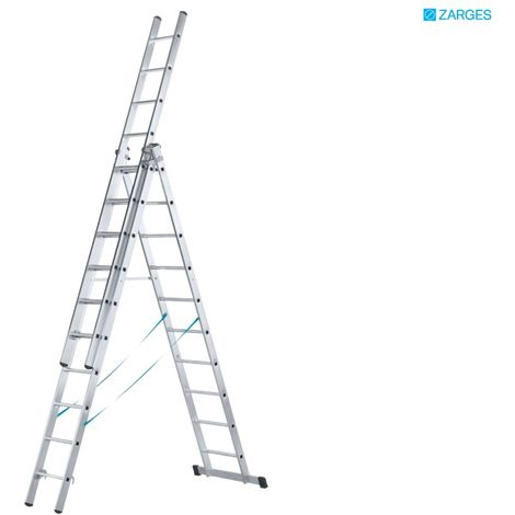 ZARGES TRADE 3 PART SKYMASTER 14 RUNG