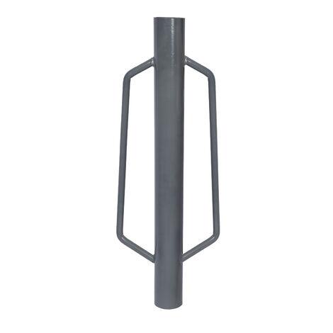 Zaunpfahl-Ramme für Pfosten bis Ø66mm präzises Einschlagen beim Zaunbau Handramme Pfostenramme