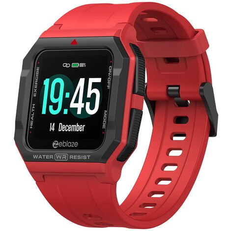 """main image of """"Zeblaze Ares Smart Watch Retro Ultra-Light Watch 1.3-Inch IPS Screen BT5.0 30M Waterproof Fitness Tracker Sleep/Heart Rate/Blood Pressure Monitor Multiple Sports Mode Smart Reminders Strong Endurance Preset/Custom Dials Compatible with Android iOS"""""""
