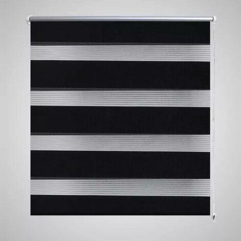 Zebra Blind 140 x 175 cm Black VD08147