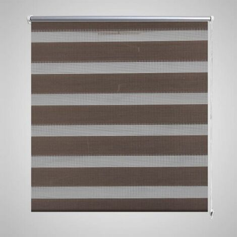 Zebra Blind 40 x 100 cm Coffee