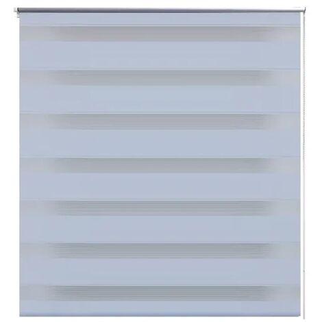 Zebra blind 40 x 100 cm white