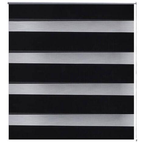 Zebra blind 60 x 120 cm black