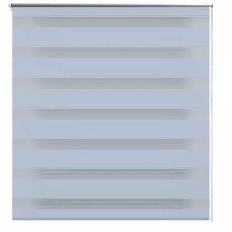 Zebra Blind 60 x 120 cm White QAH08113