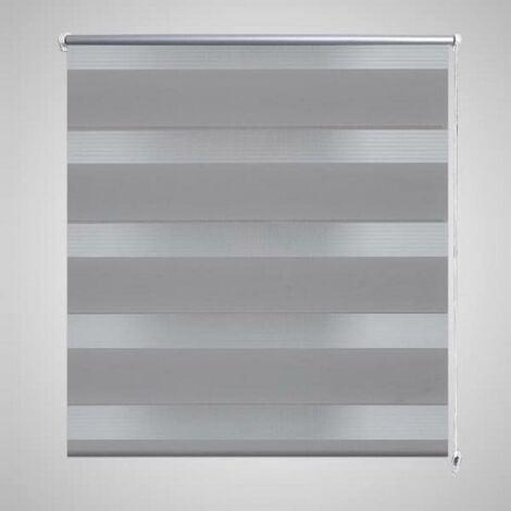 Zebra Blind 70 x 120 cm Grey VD08118