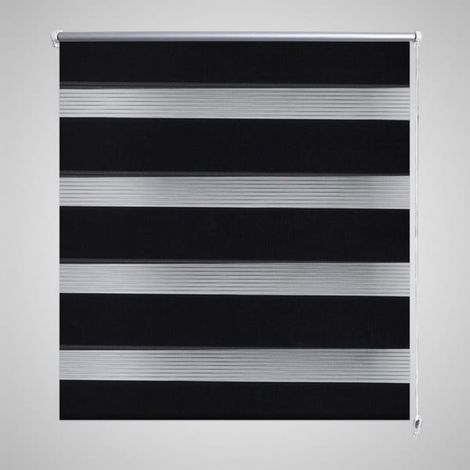 Zebra Blind 80 x 150 cm Black VD08123