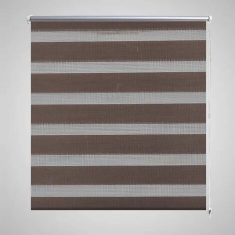 Zebra Blind 80 x 150 cm Coffee