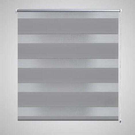 Zebra Blind 80 x 175 cm Grey