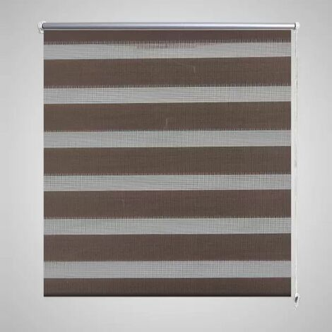 Zebra Blind 90 x 150 cm Coffee
