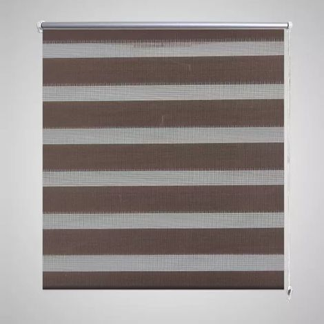 Zebra Blind 90 x 150 cm Coffee VD08132