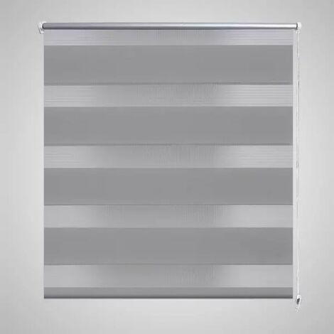Zebra Blind 90 x 150 cm Grey