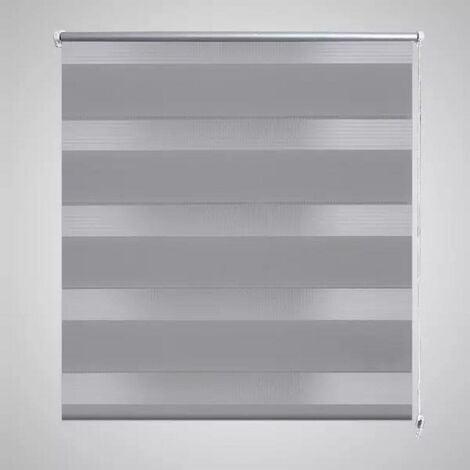 Zebra Blind 90 x 150 cm Grey VD08130