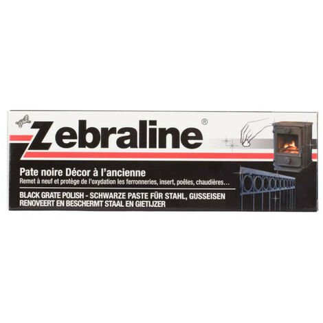 Zebraline ZEBRA - Black paste - 100ml