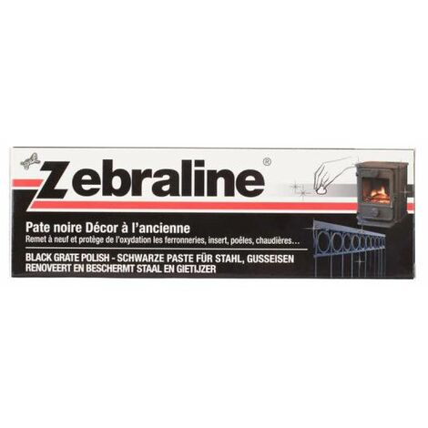 Zebraline ZEBRA - Pasta negra - 100ml - Noir