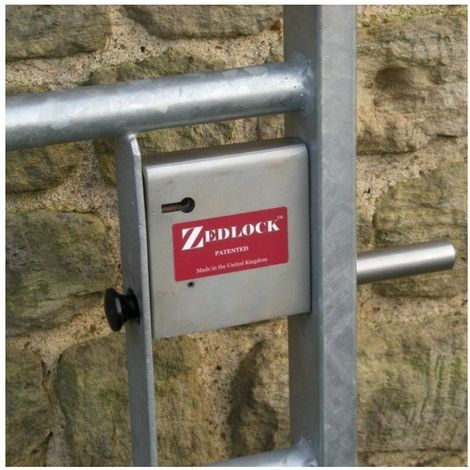 Zedlock Extra Secure Gate Lock for 25 mm Box Steel Gates