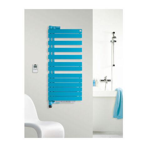Zehdner Roda electric design radiator ROEL-100-055 / IPS, left, bathroom radiators: White RAL 9016 - ZRE40155B100000