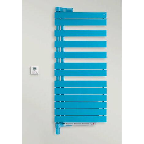 Zehdner Roda radiador eléctrico de diseño ROEL-100-055 / IPS, izquierda, radiadores para baños: Blanco RAL 9016 - ZRE40155B100000