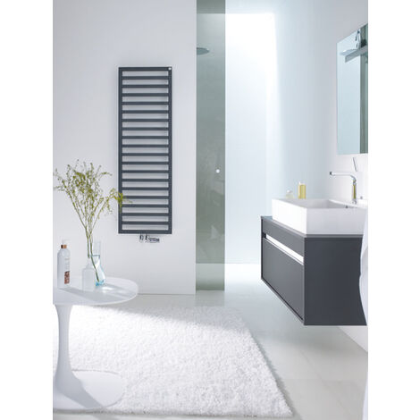 Zehnder design radiatore Quaro QA-100-045 , 971x30x450, radiatori da bagno: Bianco RAL 9016 - ZQ100145B100000