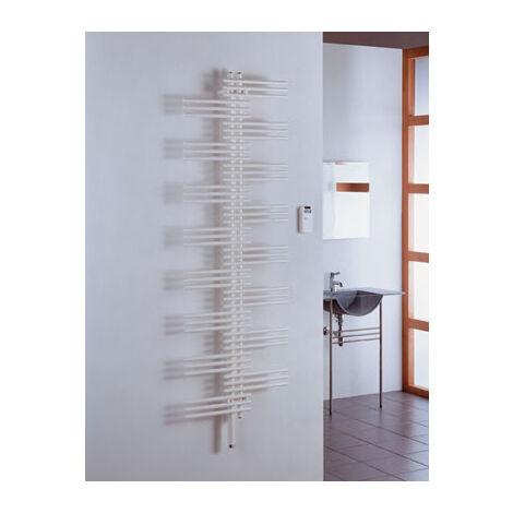 Zehnder Design Radiatore Yucca elettrico YSE-090-090-050 / UD, radiatori da bagno: Bianco RAL 9016 - ZY1V0250B100000