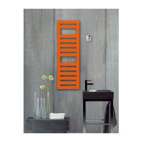 Zehnder Metropolitan Design radiateurs électriques METE-080-040-040 / GD, Radiateurs de salle de bain: Blanc RAL 9016 - ZM2Z1140B100020