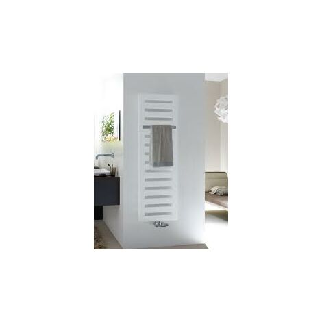 Zehnder Metropolitan Radiador eléctrico de diseño MEPE-180-050 / GD, radiadores para baños: Blanco RAL 9016 - ZM1Z1650B100020