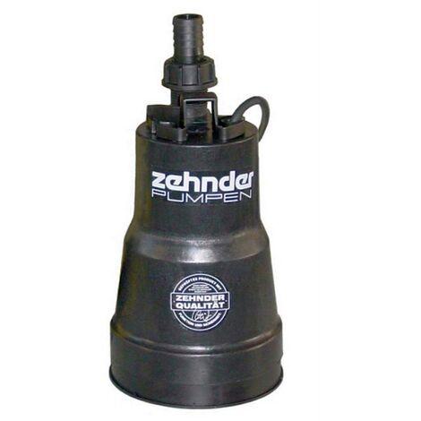 Zehnder-Pumpen Flachsauger FSP 330 Tauchpumpe, Edelstahl/Kunststoff