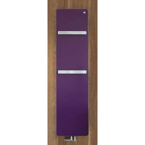"Zehnder vitalo Radiador de diseño VIP-125-050, 1250x500 mm, diseño ""bar"", con conexión central, radiadores para baños: Blanco RAL 9016 - ZV101250B100000"