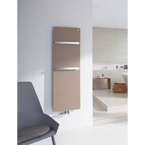 "Zehnder vitalo Radiador de diseño VIP-160-040, 1570x400 mm, diseño ""bar"", con conexión central, radiadores para baños: Blanco RAL 9016 - ZV101640B100000"