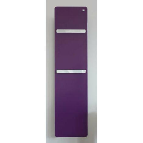 """Zehnder vitalo Radiador de diseño VIPK-160-060, 1595x600 mm, versión""""bar"""", con caja de conexiones EasyFix, radiadores para baños: Blanco RAL 9016 - ZV111660B100000"""