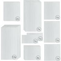 Zelsius 6 mm Ersatzplatten Set für Gewächshaus 04 Hohlkammerstegplatte