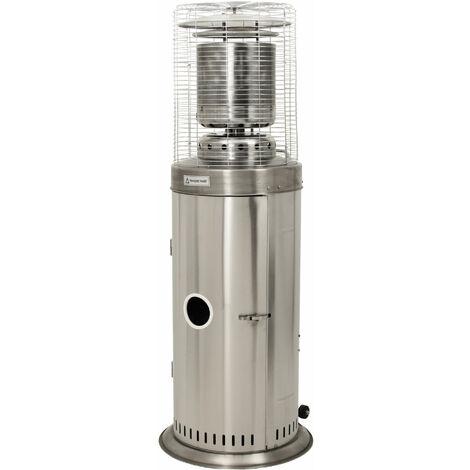 "ZELSIUS ""Graz"" stainless steel radiant heater 13.5 kW gas patio heater"