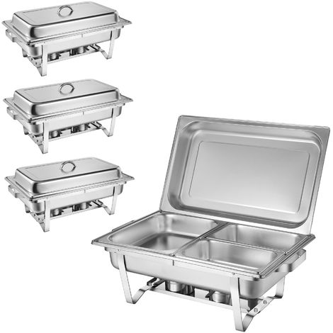 """ZELSIUS """"Grenoble"""" professional chafing dish set, 30 pieces"""