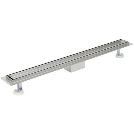 """ZELSIUS """"Mildura"""" stainless steel shower channel, 120 cm"""
