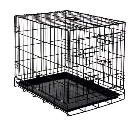 Zelsius pet cage, 60 x 43 x 49 cm, foldable, for dogs, cats, ...