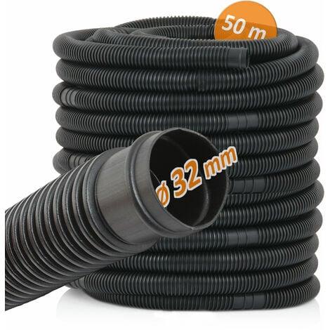 Zelsius Piscine et tuyau de piscine | Ø 32 mm | longueur: 50 m