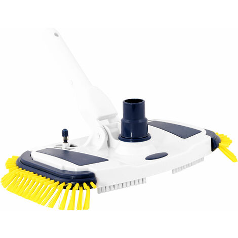 ZELSIUS pool cleaner with side brushes, floor cleaner, pool brush
