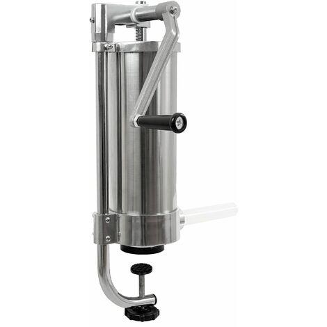 Zelsius Remplisseur professionnel de saucisses en acier inoxydable | Trois tubes