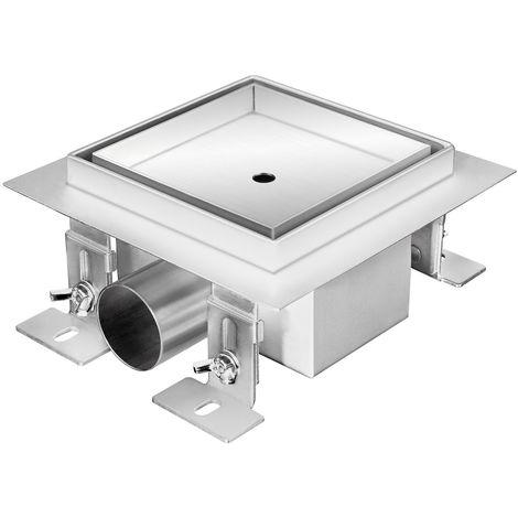 "ZELSIUS stainless steel floor drain ""Gladstone"", 12 x 12 cm"