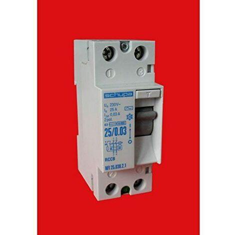 Zenitech - Interrupteur Différentiel 30Ma -25A / Ac