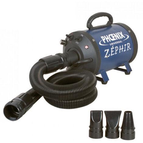 Zephir portable pulseur séchoir pour toilettage chien et chat