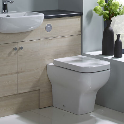 Zero Back To Wall WC Pan & Soft Close Seat