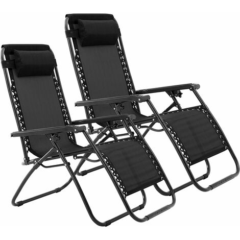 Zero gravity reclining garden chair