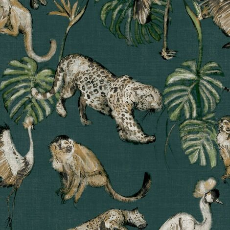 Zero Wallpaper Exotic Animals Green