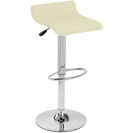 Zest Bar Stool Creamfaux Leather Kitchen Bar Stools Cream