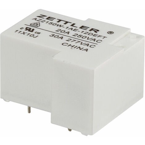 Zettler Electronics AZ2150W-1AE-12DEFT PCB Mount Relay 1 NO, SPST-NO