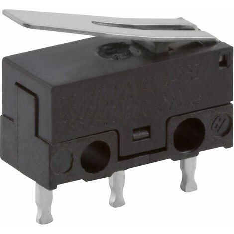 """main image of """"ZF DG13-B1LA DG13-B1AA Microswitch SPDT 3A 125VAC 2A 30VDC Lever straight"""""""