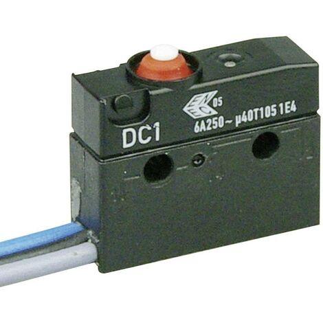 s On ZF Microrupteur DC1C-C3AA 250 V//AC 6 A 1 x On// IP67 /à rappel 1 pc