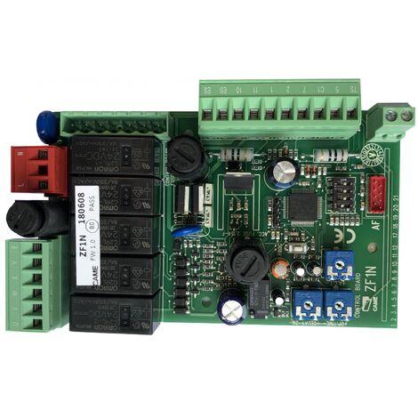 ZF1N Carte électronique sans boîtier pour portail battant CAME 230V - CAME