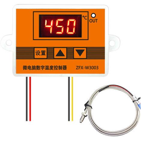 Zfx-W3003 Regulateur De Temperature Numerique Intelligent Temp Microordinateur Thermostat Pour Refrigerateur Congelateur D'Incubation, 12V